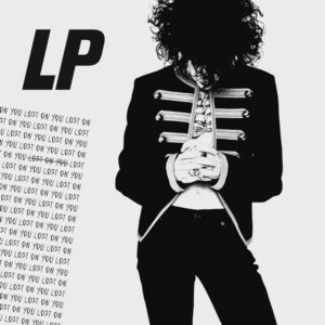 "The artwork for the LP's ""Lost On You"" single."